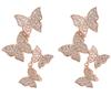 C2 rose gold earring