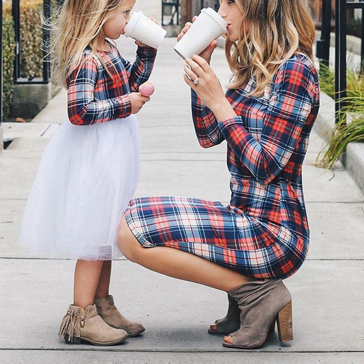 Лидер продаж, одежда для мамы и дочки, одежда для мамы и дочки, детские платья, подходящее платье для мамы и дочки