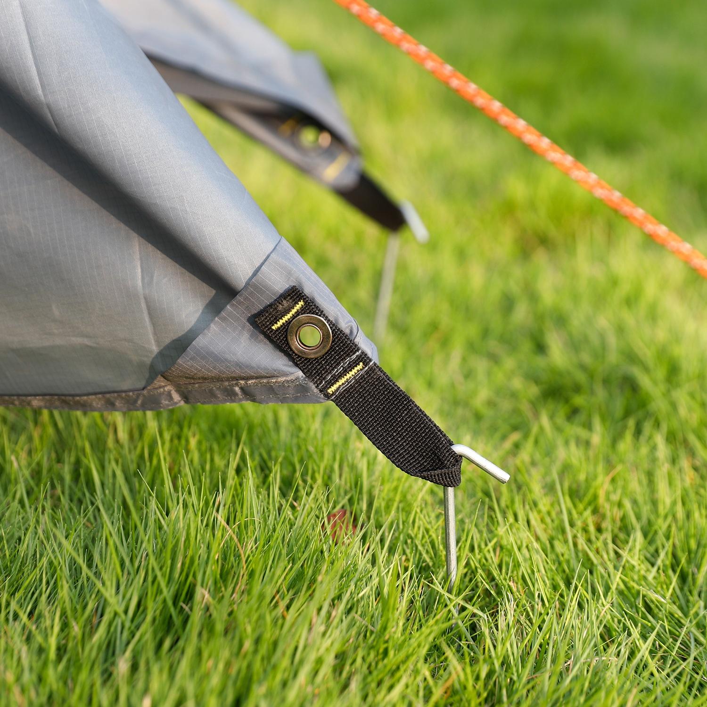 Galvanized Garden Tent Pegs Flat Top/round Top 4mm/12mm 4