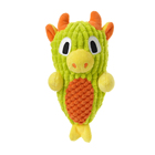 Toy Best-Selling Luxury Squeaky Safety Durable Pet Chewing Plush Dragon Shape Toy