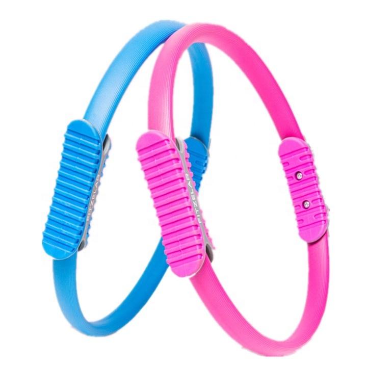 Домашние аксессуары для фитнеса, пилатеса, разноцветные аксессуары для йоги, тренировочное кольцо