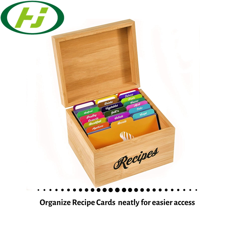 25 разделителей рецепта 4x6 помогает организовать карточки рецепта 4x6