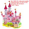 1690-25 Little pink castle