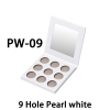 PW-09, 9 Hole Pearl white
