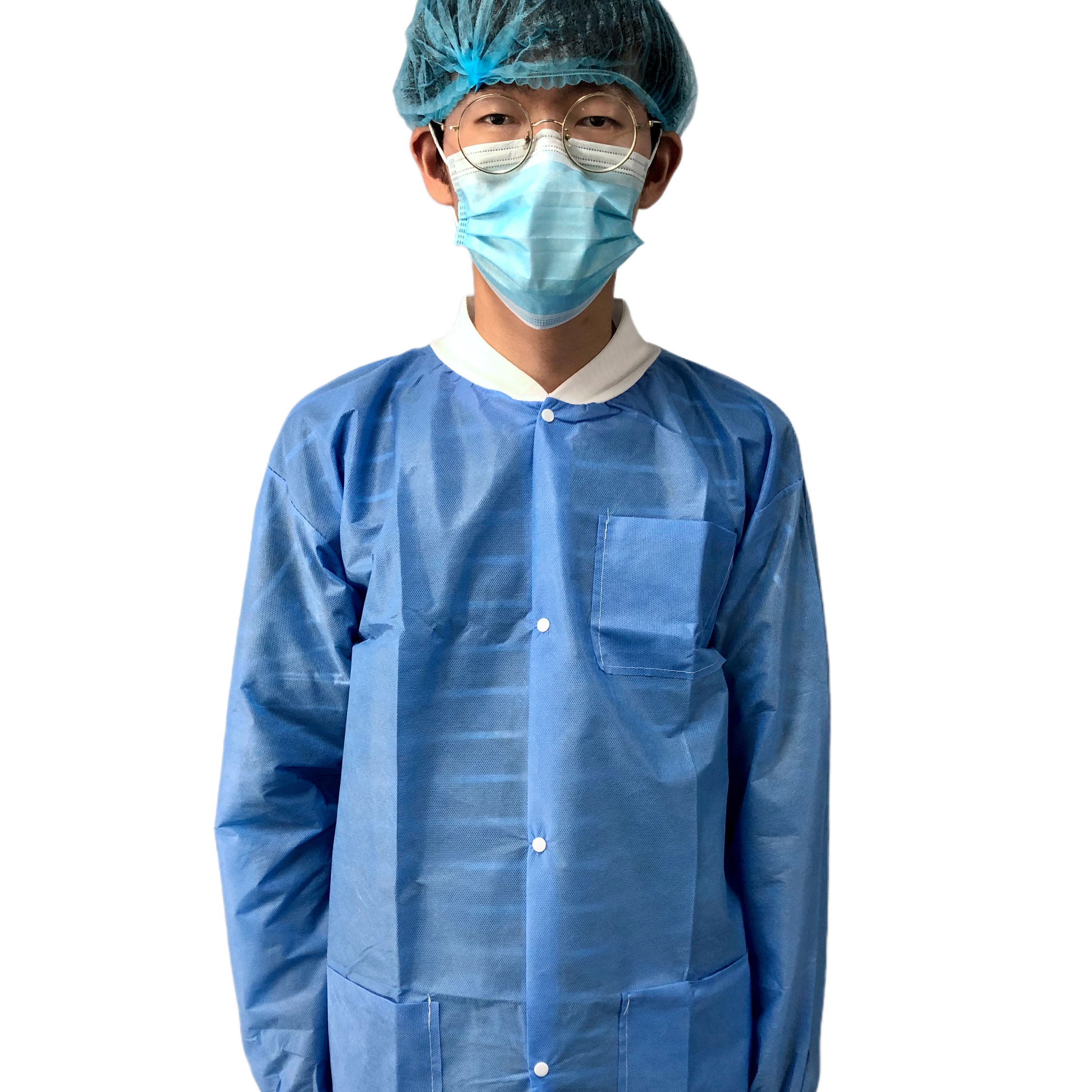 Non-sterile medispo smmms sms smms blue isolation gown fast shipping sms isolation gown different kinds of PP+PE isolation gown - KingCare   KingCare.net