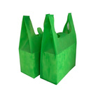Green Bag Green Shopping Bag Accept Customized Recyclable Supermarket Environmental Protection Gift Shopping Green Bag