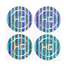 Custom Hologram Stickers High Quality Warranty Holographic Packaging Labels Security Adhesive Labels Printing