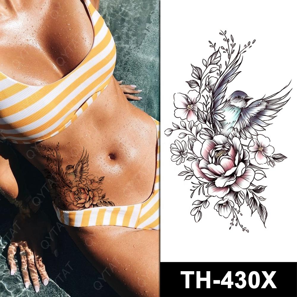 Washable Fake Body Sexy Temporary Stikers Tattoo