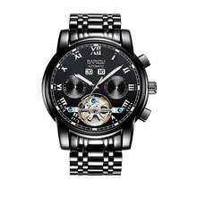 Горячая Распродажа, водонепроницаемые автоматические дизайнерские часы Tourbillon, мужские механические наручные часы, деловые часы с скелетом...(Китай)