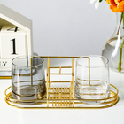 Wire Holder Wholesale Metal Wire Toothbrush Holder Toothpaste Holder Stand Bathroom Wire Toothbrush Holder