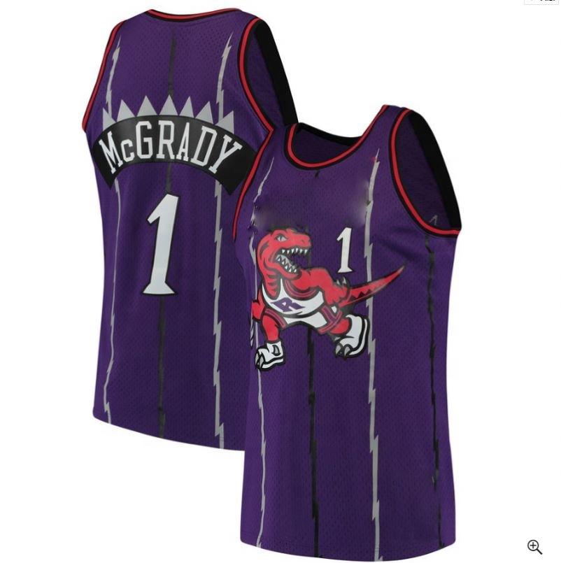 Classic #1 Mcgrady Jersey Embroidery #1 Biggie Basketball Jerseys - Buy Stitched Logos Basketball Jerseys,Classic Mcgrady Jerseys,Purple Basketball ...
