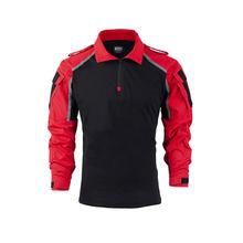 Тактическая рубашка BACRAFT, светоотражающая, для использования на улице, для инструкторов, боевая одежда-XXL(Китай)