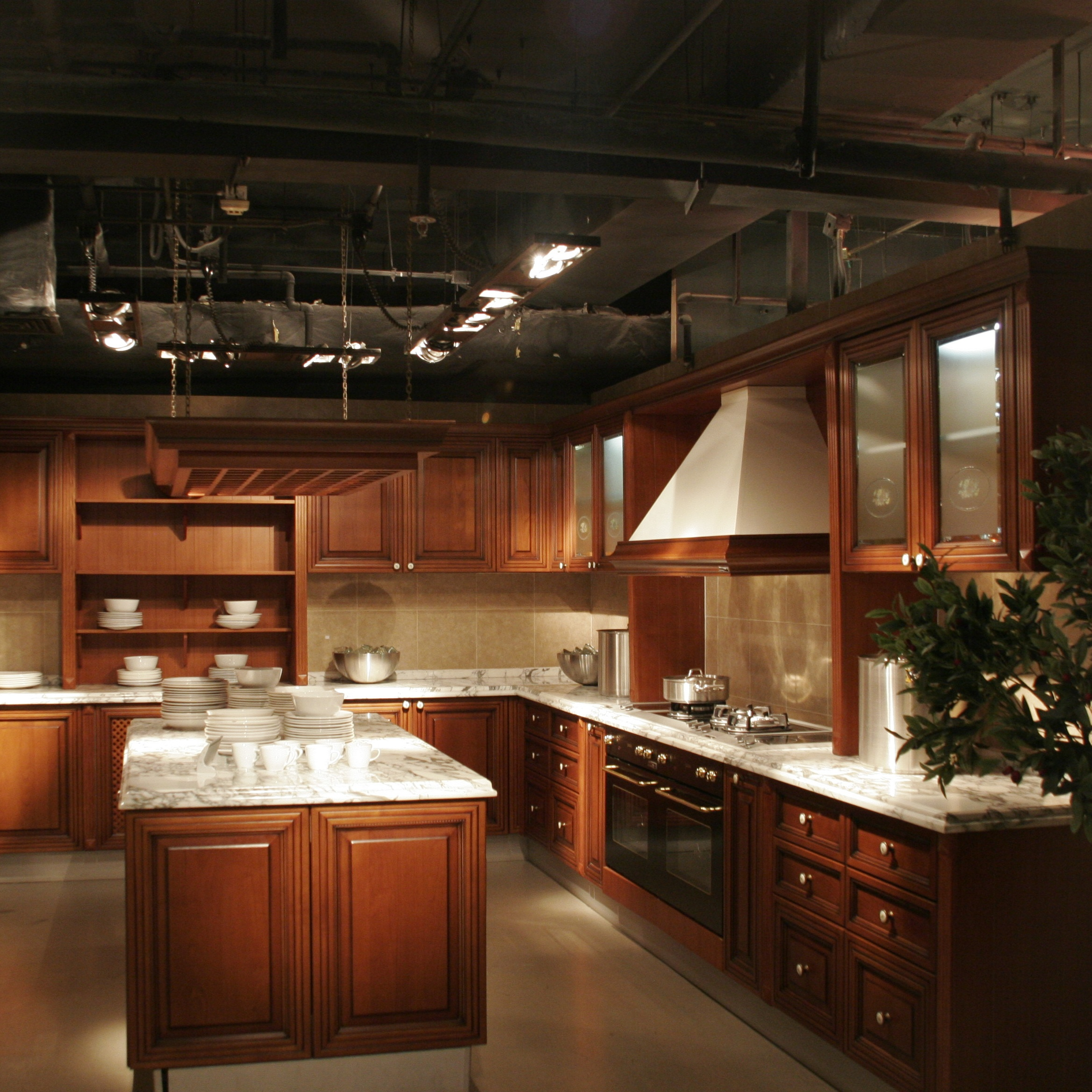 Solid Wood Kitchen Cabinets Buy Kitchen Cabinet Wooden Kitchen Cbainet Cherry Wood Kitchen Cabinets Product On Alibaba Com