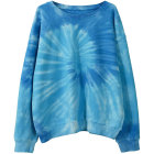 Cotton Cool Streetwear Clothing 100% Cotton Crew Neck Sweatshirt Tie Dye Pullover Men's Hoodies
