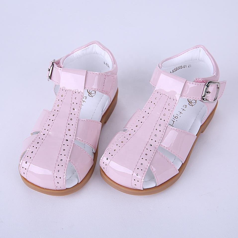 2021 модная юбка-пачка для девочек; Глянцевая обувь популярные оптовые розовое шерстяное пальто для девочек; Школьная обувь; A-KSB005-01DP
