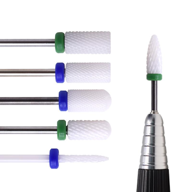 Акриловая искусственная насадка с полным покрытием для демонстрации ногтей, насадка из карбида вольфрама для маникюра