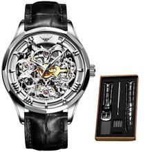 Мужские часы 2020 Роскошные Мужские механические наручные часы, Классические Автоматические часы, мужские механические часы(Китай)