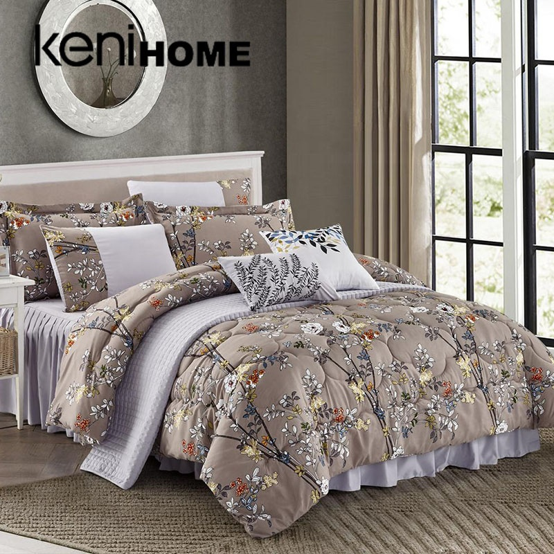 Long life super soft polyester cheap comforters