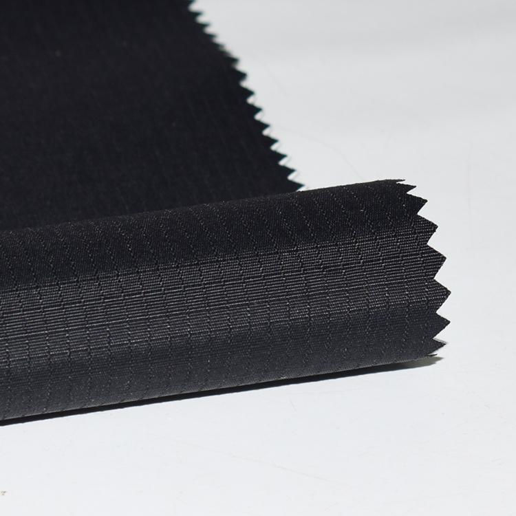 DWR Nylon ripstop Taslan PU wet coating work wear jacket 2 layer fabric