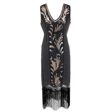 2020 new colors Women 1920s Flapper Dress Gatsby Vintage Plus Size Roaring 20s Costume Dresses Fringed for Party Prom(China)