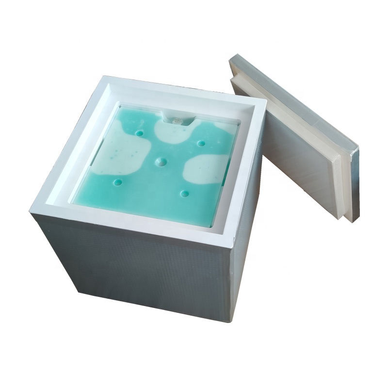 CSI 72 Hours Without Power Cold Chain VIP/PU Ice Cooler Vaccine Carrier 84L Shipping Medical Refrigerator