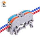 Din Connector Connector Din Connector New Design Of UK3 Din Rail Use Electrical Wire Connector To Din Terminal Blocks Terminal Wire Connector