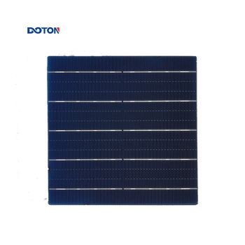 DOTON 5BB 158*158MM Solar Panel Factory Direct Manufacturer With Export License