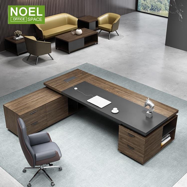 Современный стиль, деревянный офисный стол, мебель, стол для менеджера по дизайну