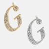 G - 18k gold or rhodium