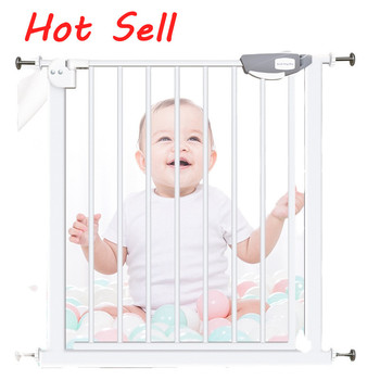 Factory direct sales retractable door bed wall protector extension stairs pet kids child baby safety gate