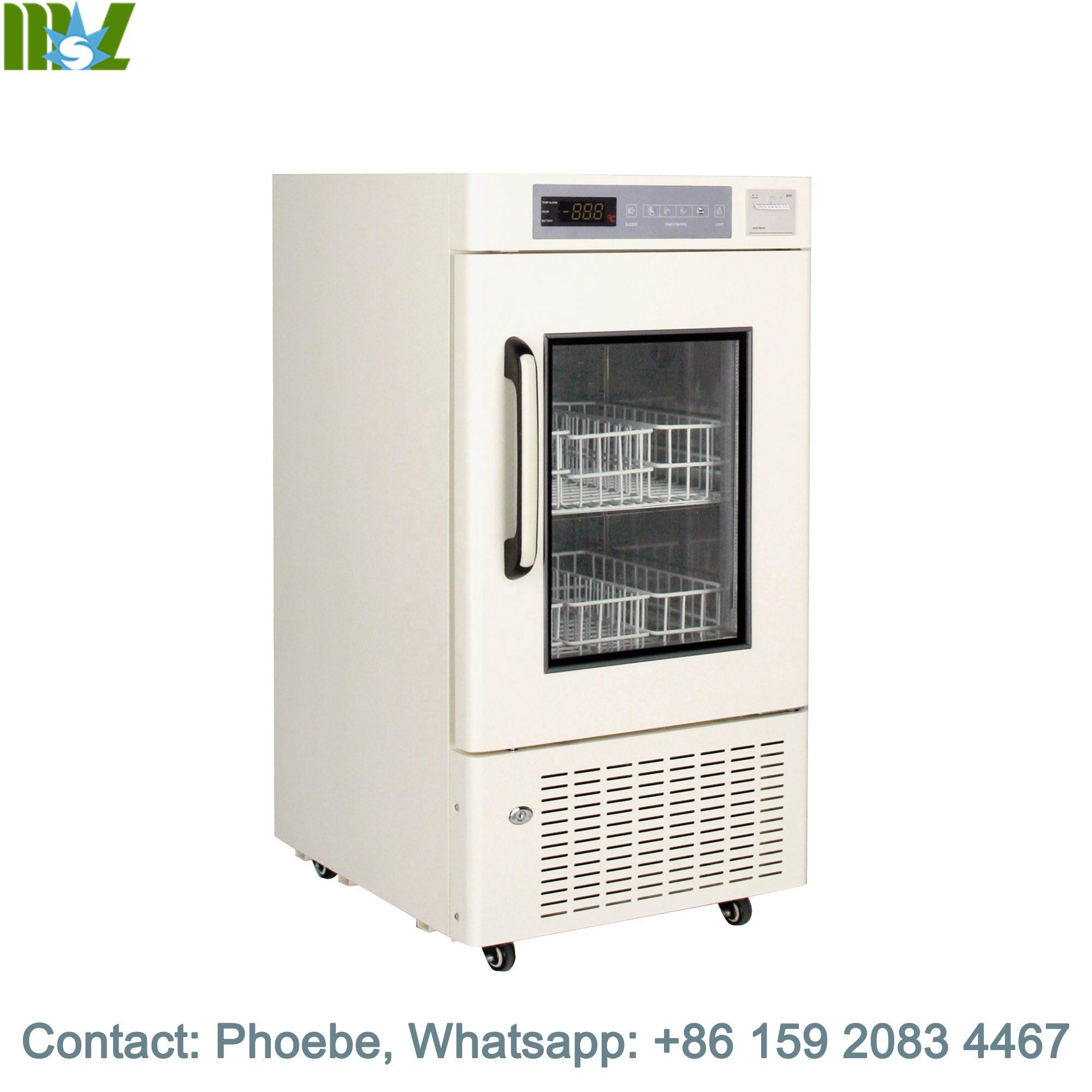 Холодильник для кровяного банка, сделано в Китае, холодильник и морозильник MSLXYL01 120 л и 160 л, Одобрено CE