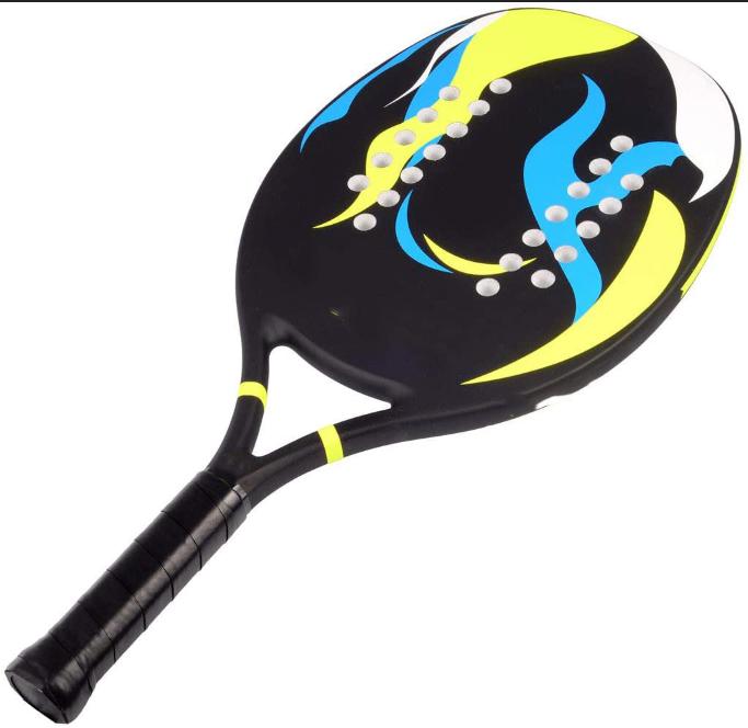 Популярные пляжные весельные Мячи Amazon, игровые комплекты для детей и взрослых, портативный и компактный набор из 2 ракетки и 2 пляжных мяча