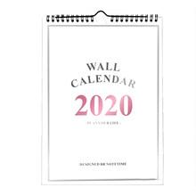 Творческий настенный календарь с ручной росписью, Простой настенный календарь 2020, канцелярские принадлежности, планировщик календарей с р...(Китай)
