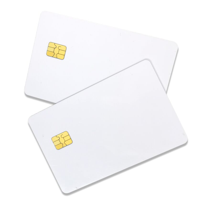 Rfid Smartcard Sle5542 Sle4442 Sle4428 Contact Blank Pvc Ic Card With Chip Smart  Card - Buy Pvc Card With Chip,Blank Chip Cards,Chip Card Product on  Alibaba.com