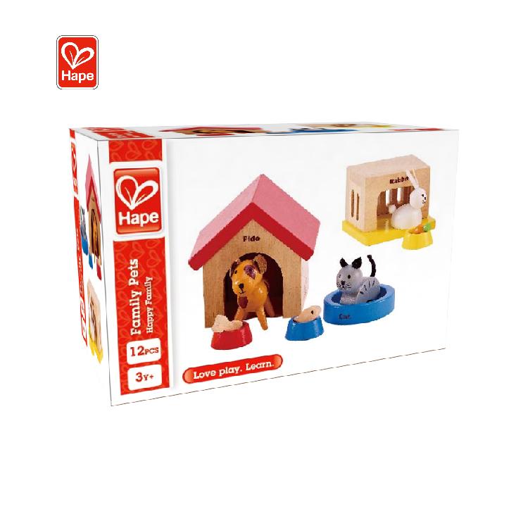 Новинка 2020, интерактивная детская игровая мебель, деревянная игрушка, розовый миниатюрный кукольный домик «сделай сам» для детей