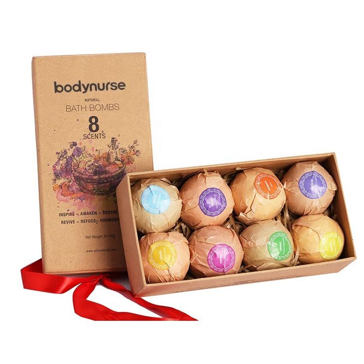 Частная торговая марка, Ароматные пузырьки, веганские натуральные пузырьки, органические Бомбочки для ванны