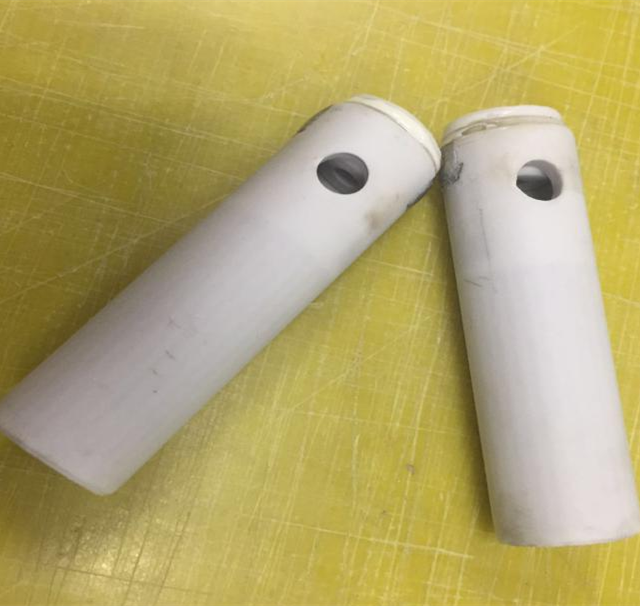 Attractive price new type alumina ceramic heat tube heat resistant ceramic tube