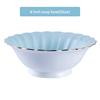 8 inch soup bowl(blue)