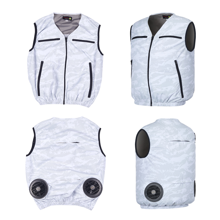MIDIAN Fan Cooling Work Uniforms Air Conditioning Fan For Cooling Vest With Cooling Fan Battery Set Heat Stroke Countermeasures