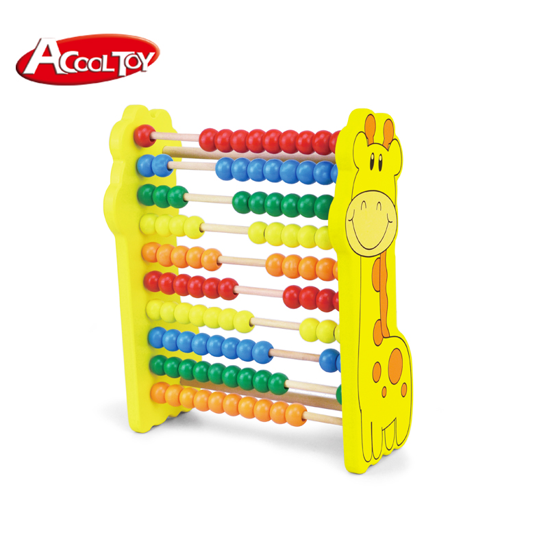 Engelhart Colorful wooden vertical abacus fun math learning for ...