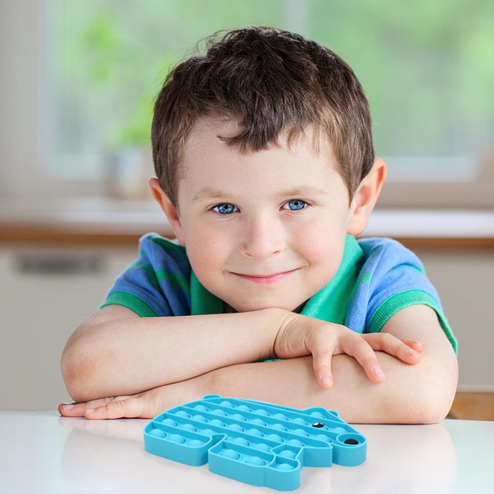 Huiye toys push fidget juguet pop fidget bubble poppet rainbow fidget toy pop juguetes desestresantes