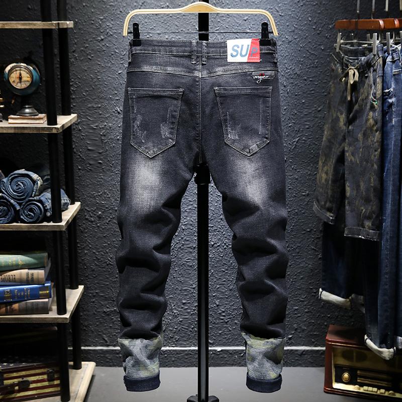 Pantalones Vaqueros Clasicos Para Hombre Ropa Masculina De Tela Vaquera Suave De Motorista Color Negro Buy Pantalones Cortos De Mezclilla Para Hombre Vaqueros Para Hombre Bermuda Para Hombre Product On Alibaba Com
