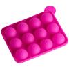 Dark Pink 12 Cavities