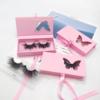 Pink Butterfly eyelash packaging
