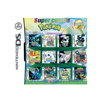 Retro Video Games Card 23 in 1Version Game Card Game Cartridge Suitable Pokemon cards Nintendo NDS NDSI for 3DS