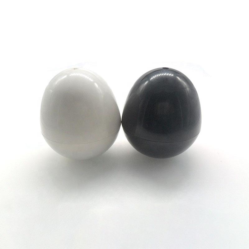Black Baby Rattles Toys Noise Maker Safety Jingle Bell Noise Plastic Rattle Ball
