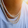 silver bracelet 9inch