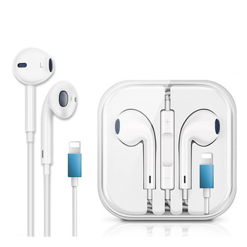 Factory Price Mobile Phone Earphone Earpod Hand Free Earbuds With Microphone For Iphone 7 8 X Earphone For Apple