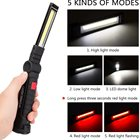 Light 5 Modes 360 Rotate Portable Cordless Rechargeable LED Flashlight Inspection Lamp Magnetic Work Light For Reading Desk Opera