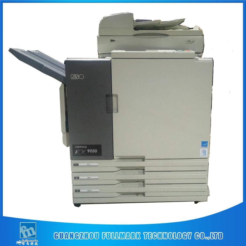 Good quality risos comcolor machine EX7250 inkjet printer A3 duplex used copier printer